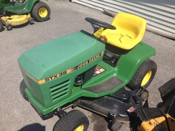 John Deere Stx 38 : Greenmowerblades genuine john deere lawn mower